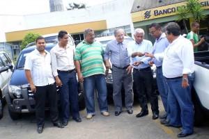 Saúde recebe mais seis veículos-01-foto Vinícius Borges