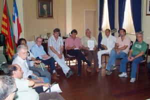 representantes do Fórum Permanente de Ilhéus estiveram em audiência com o prefeito Newton Lima foto Clodoaldo Ribeiro (1)