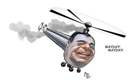 aroeira cabral helicóptero