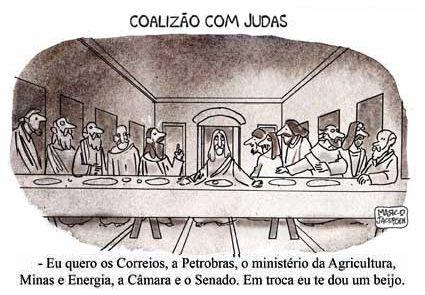 coalização com Judas