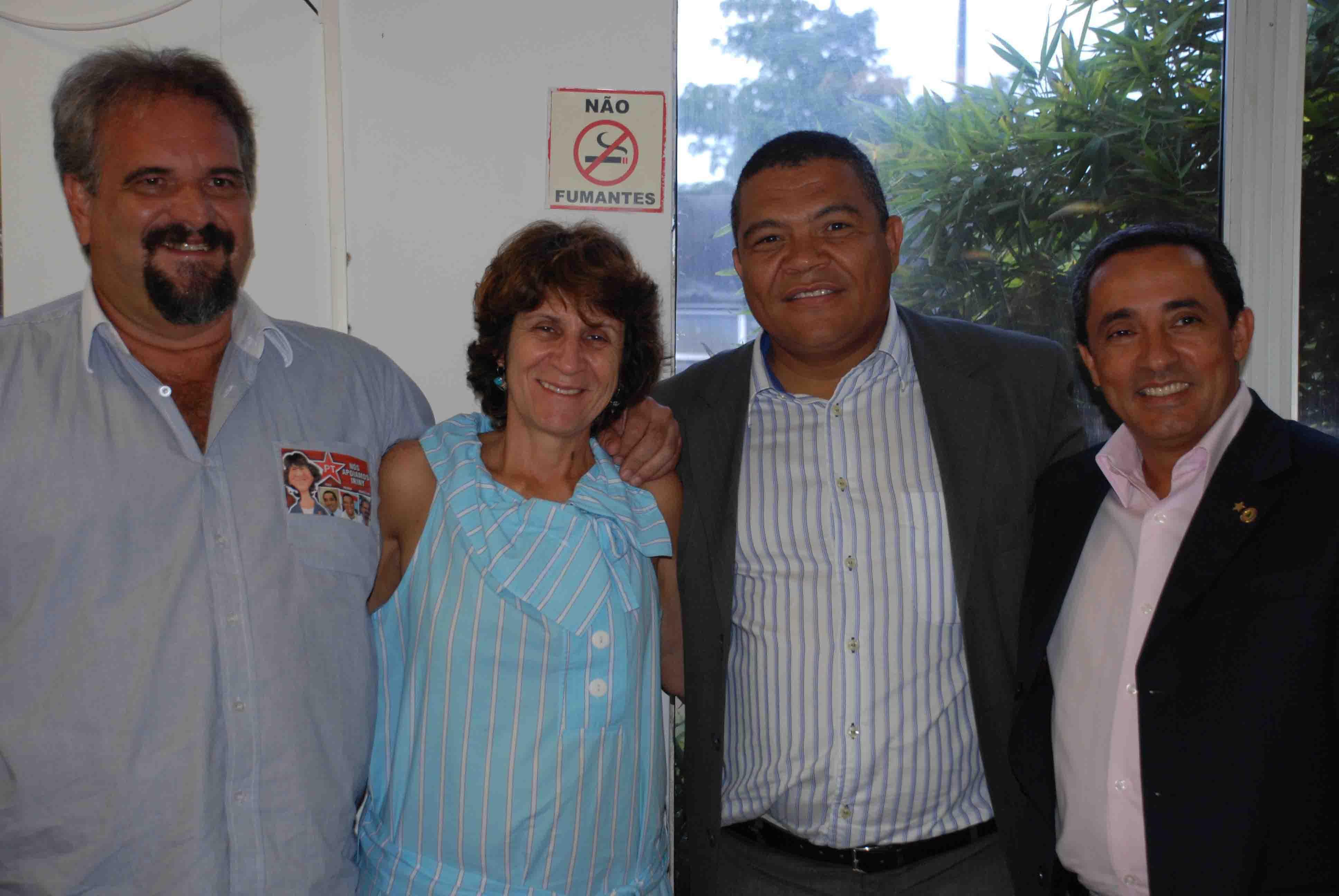 Marcelino Galo, Iriny Lopes (candidata à presidência nacional do PT), Valmir e Yulo estarão em Itabuna na manhã deste sábado.