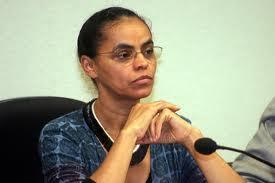 A ex-senadora Marina Silva.