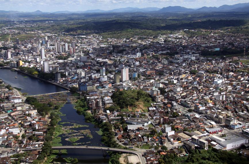 Imagem aérea de Itabuna. Foto de José Nazal.