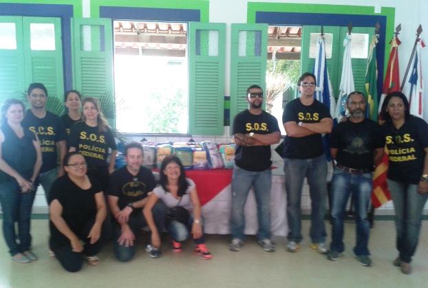 PF Solidária no lar São Vicente de Paulo.