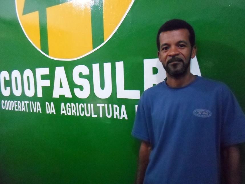 Ivandro afirmou que o bônus reforça o orçamento da família. Imagem: Thiago Dias.