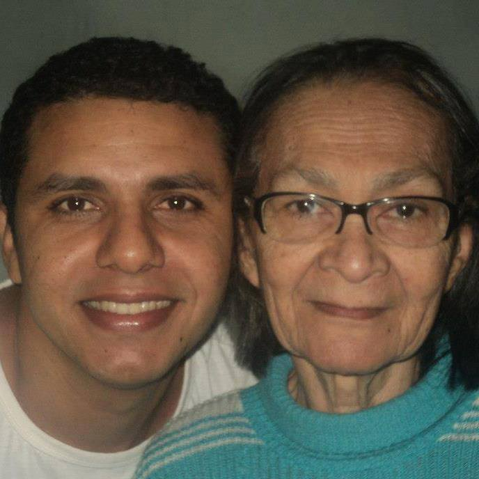 Neto de Dona Lourdes, Jerberson Josué agradeceu a homenagem.