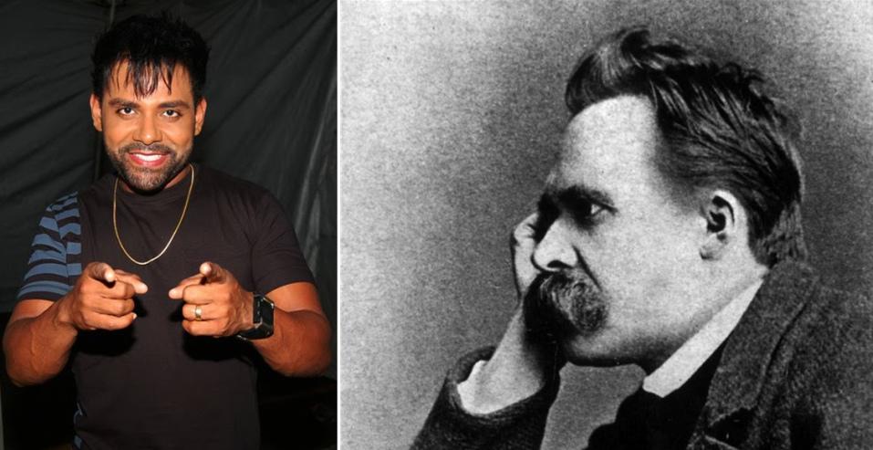 O que Pablo e Nietzsche têm em comum? Confira abaixo.