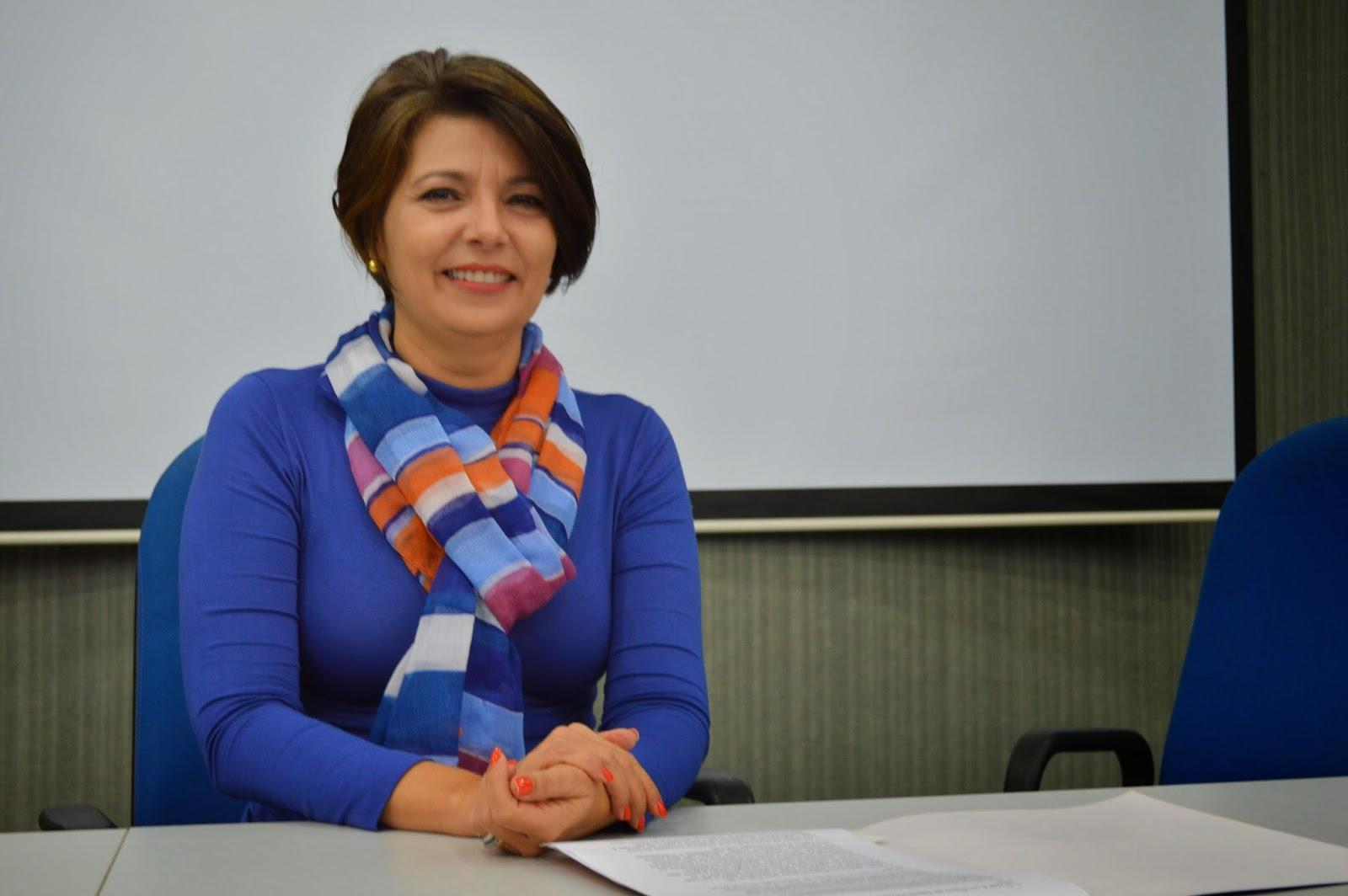 Adélia Pinheiro, reitora da UESC. Imagem: Jonildo Glória.