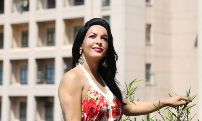 Aline Rocha voltará a estudar graças ao programa da Prefeitura de SP. Foto: Fernando Donasci/Agência O Globo.
