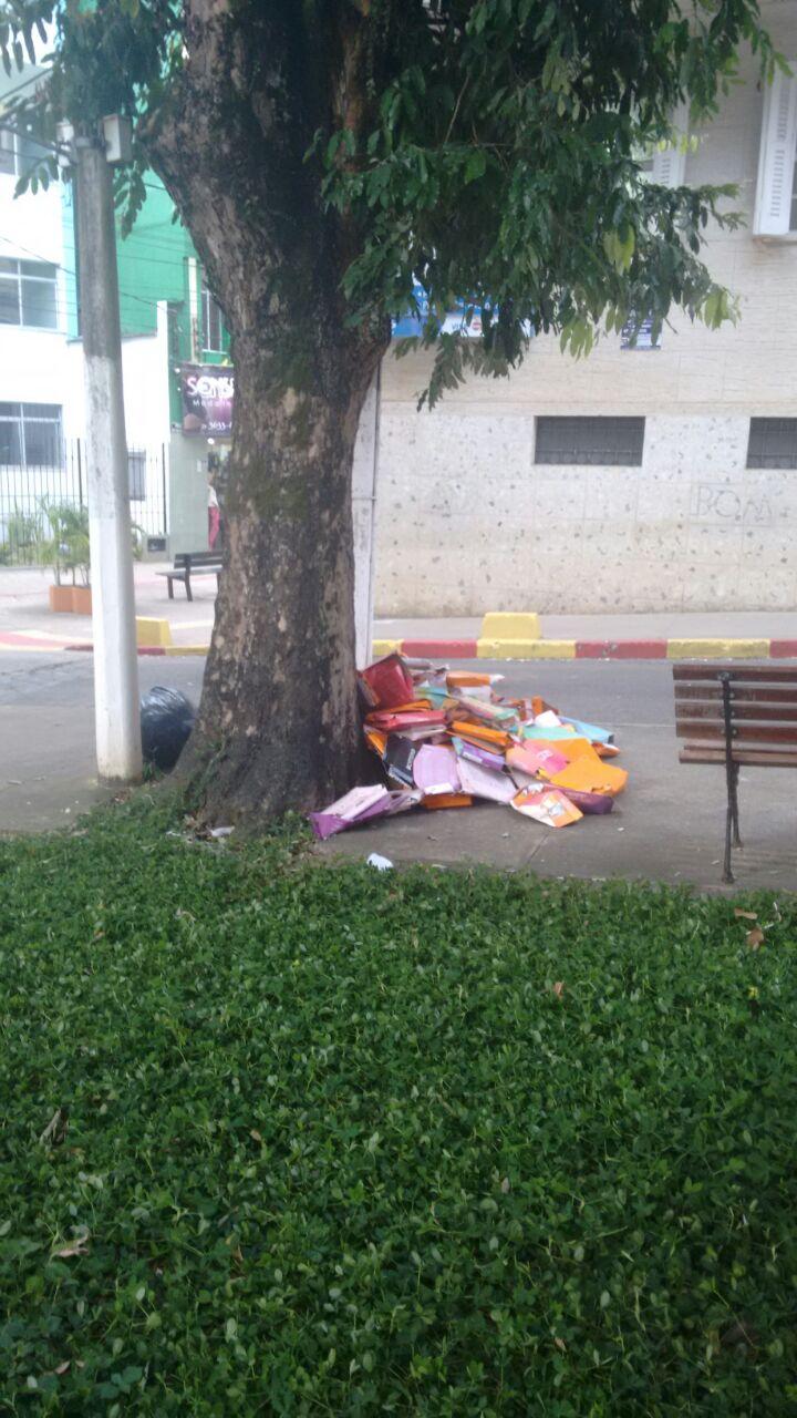 Autor da imagem denunciou a loja aos fiscais da Prefeitura de Ilhéus.