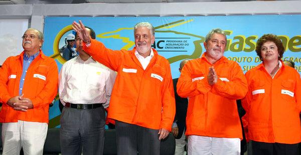 O então presidente Lula inaugurou o gaseoduto em 2010. Dilma, ministra da Casa Civil à época, também participou da inauguração, assim como o ex-governador Jaques Wagner.