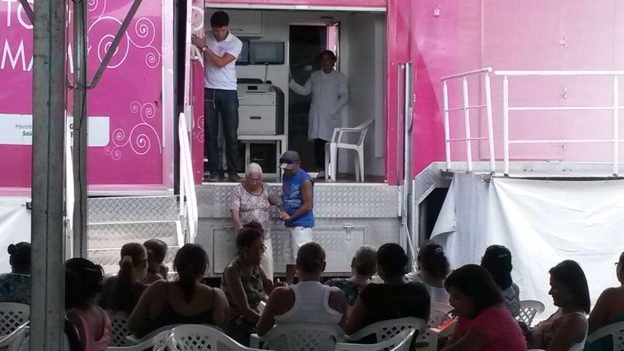 Duzentas e cinquenta mulheres são examinadas a cada dia. Atendimento acabará na próxima quinta-feira.