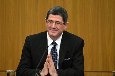 Ministro da Economia, Joaquim Levy. Imagem: Wilson Dias/Agência Brasil.