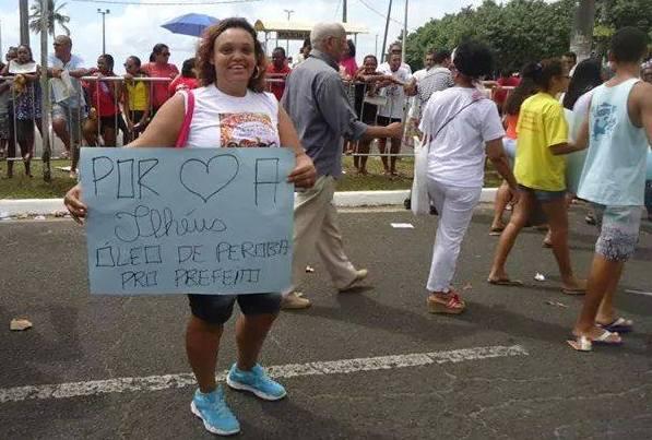 Elisângela Almeida. Imagem: Facebook/Reprodução.