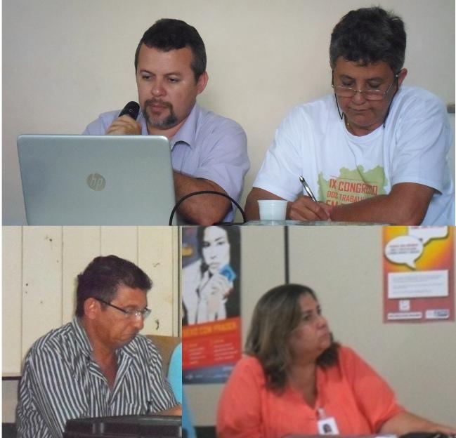 Fred Oliveira, Diala Magalhães, Mário Augusto e Ana Rita dos Anjos. Imagens: Thiago Dias/Blog do Gusmão.