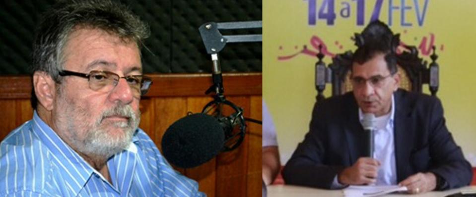 Isaac Albagli e Jabes Ribeiro.