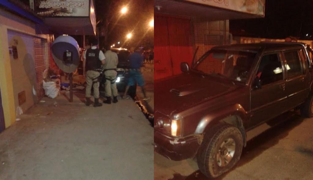 Bandidos morreram na Avenida Proclamação.