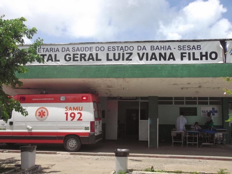Deputado estadual Pedro Tavares falou sobre a importância da reforma do Hospital Geral Luiz Viana Filho.