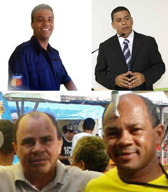 """Nascimento Junior e Magal, Roque do Sesp e """"Pequeno"""". Trairagens podem acontecer."""