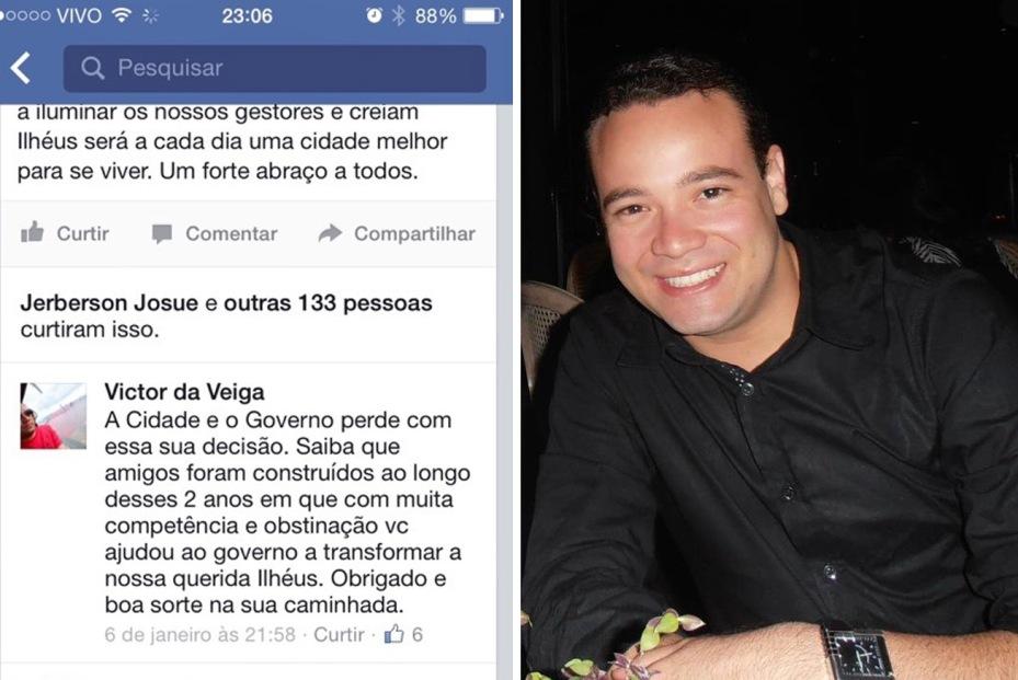 Segundo Victor da Veiga, o governo Jabes Ribeiro transformou Ilhéus.