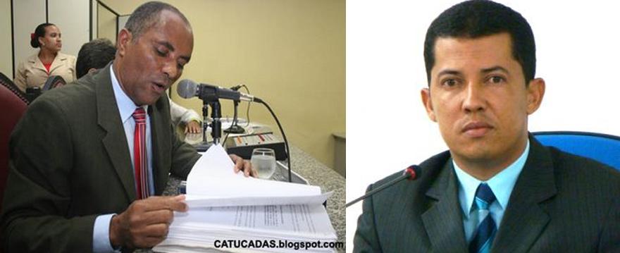 Zerinaldo Sena e Tarcísio Paixão. Imagens: José Nazal/Catucadas e Ascom/CMI.