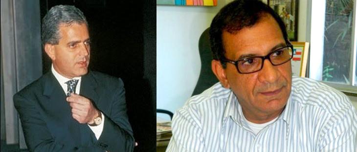 Luis Eduardo Magalhães (falecido em abril de 1998) e Jabes Ribeiro.