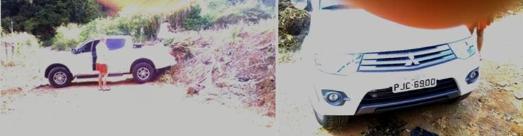 Imagens registradas por um leitor do Blog do Gusmão.