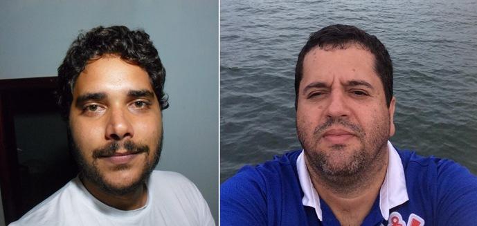 Thiago Dias e Emílio Gusmão.