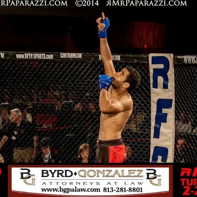"""Paulo """"Bello"""" está há dois anos em Miami, onde tenta consolidar sua carreira no MMA."""