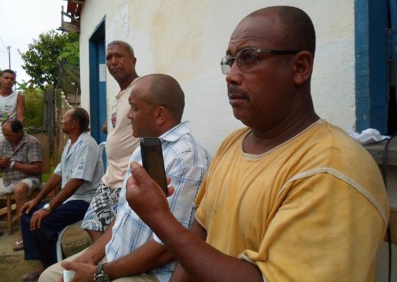 Elizeu Teles afirma que mais de seiscentas famílias serão prejudicas, se a rodovia for construída sobre as nascentes.