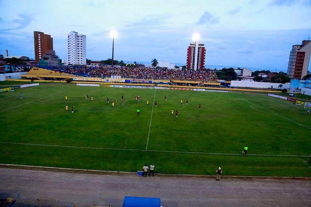 Estádio Mário Pessoa. Imagem: Alfredo Filho/Secom-PMI.