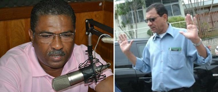 Jorge Luiz e o prefeito Jabes Ribeiro.