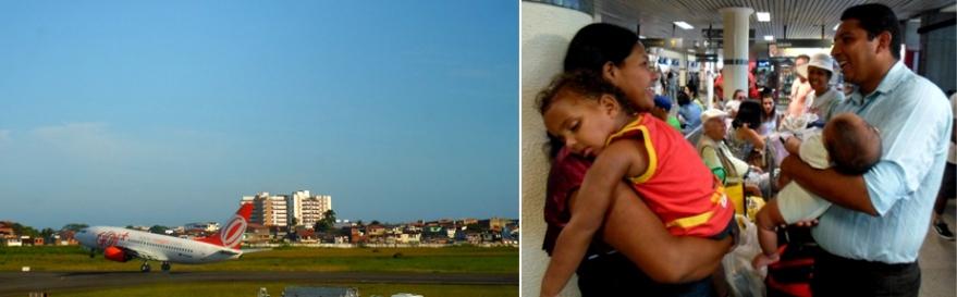 Dayane, Lucas, David e o Pastor Jonas viajaram para São Paulo depois de três dias de sofrimento em Ilhéus. Imagens: Thiago Dias/Blog do Gusmão.