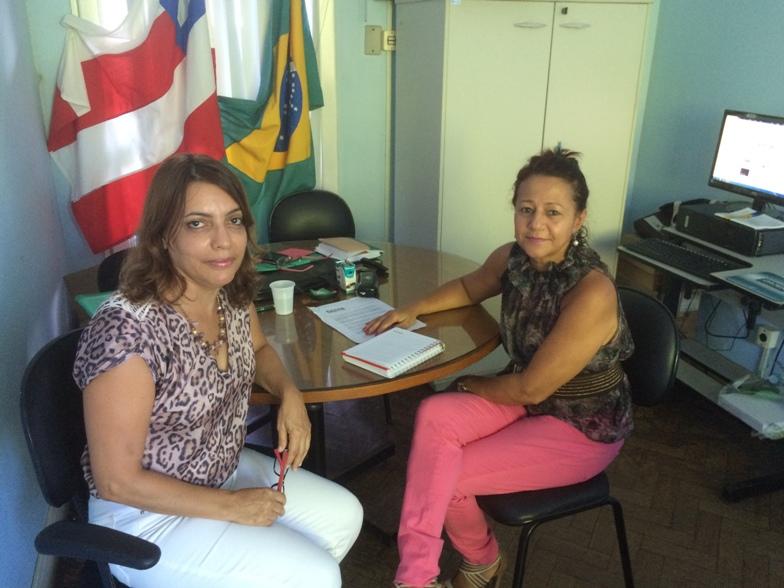 Mariza Pinheiro e Edgley Tavares. Imagem: Emílio Gusmão.