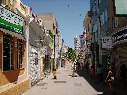 Calçadão Jorge Amado, Centro Histórico de Ilhéus.
