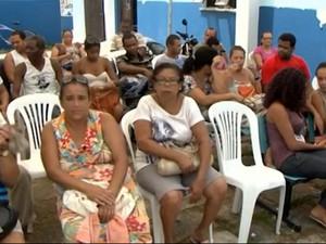 Pacientes aguardam atendimento em Ilhéus. Imagem: TV Bahia/Reprodução.