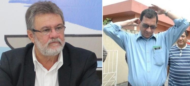 Secretário Isaac Albagli e prefeito Jabes Ribeiro.