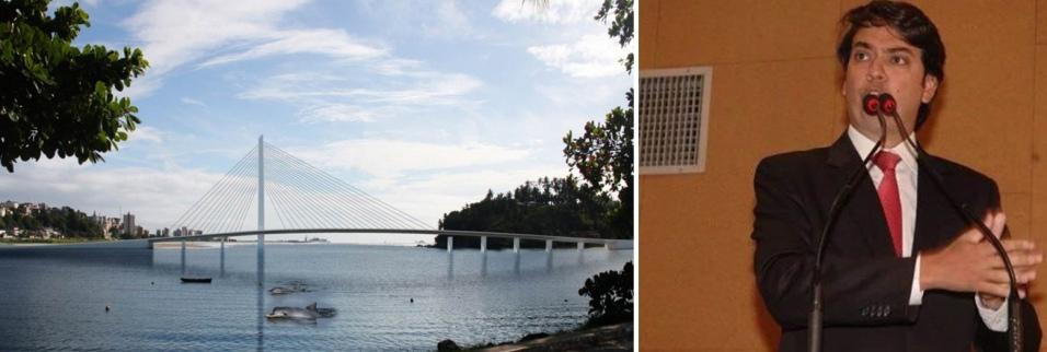 Pedro Tavares cobrou agilidade governo Rui Costa na construção da nova ponte, em discurso na ALBA.