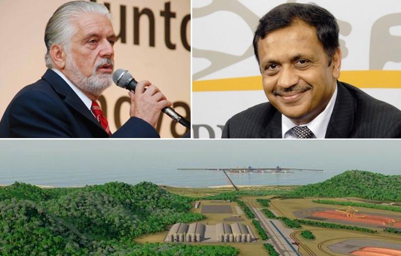 O então governador Jaques Wagner teria encontrado o magnata da mineração, Pramod Agarwal, na semana que antecedeu a concessão da Licença de Instalação do Porto Sul.
