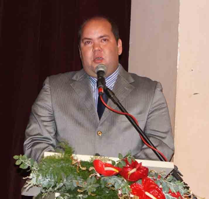 Vice-prefeito Carlos Machado (PP). Imagem: Emílio Gusmão.