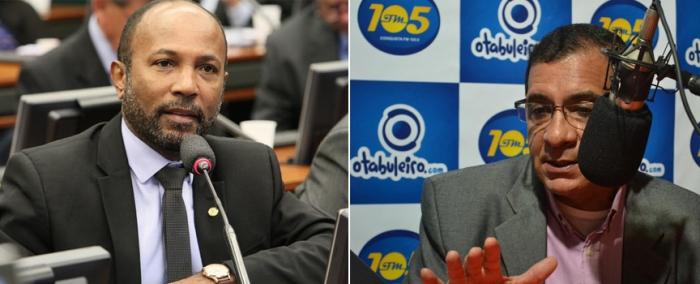 Bebeto Galvão e Jabes Ribeiro. Imagens: Ascom e O Tabuleiro.