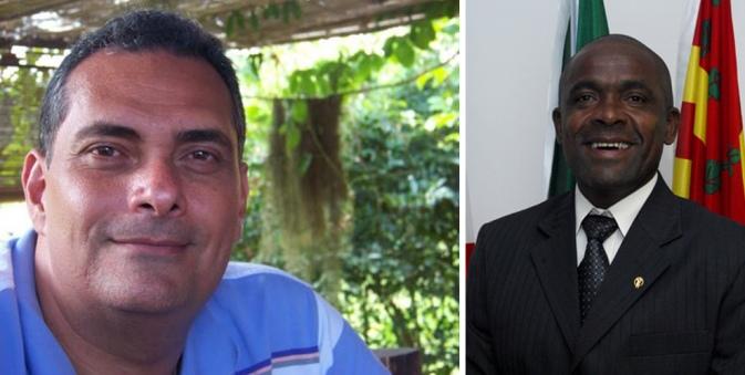 Secretário Jamil Ocké e vereador Gurita.