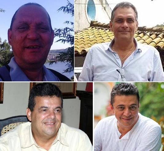 Josenaldo, Jamil, Sebastião e Paulo.