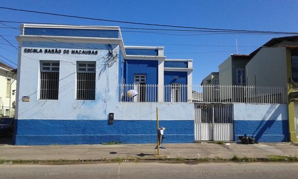 Escola Barão de Macaúbas.