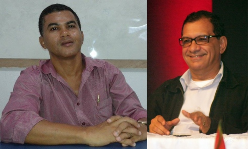 Reinaldo Soares e Jabes Ribeiro. Imagens: Thiago Dias/Blog do Gusmão e José Nazal/Catucadas.