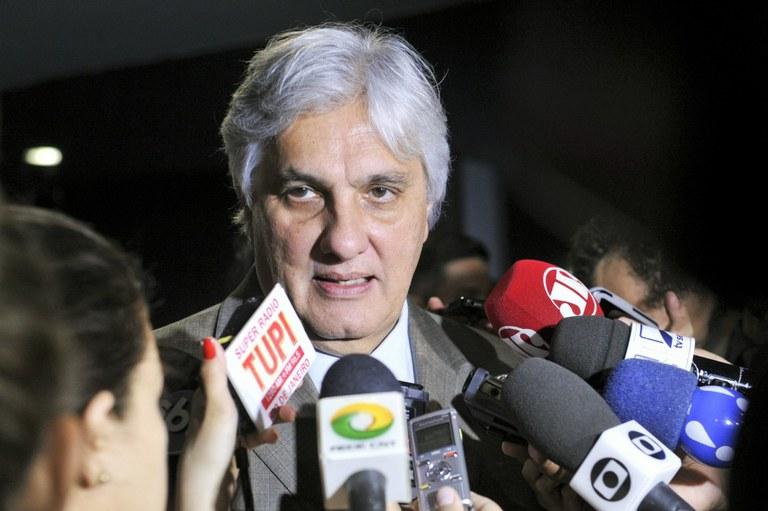 Senador Delcídio Amaral (PT). Imagem: Jane Araújo/Agência Senado.