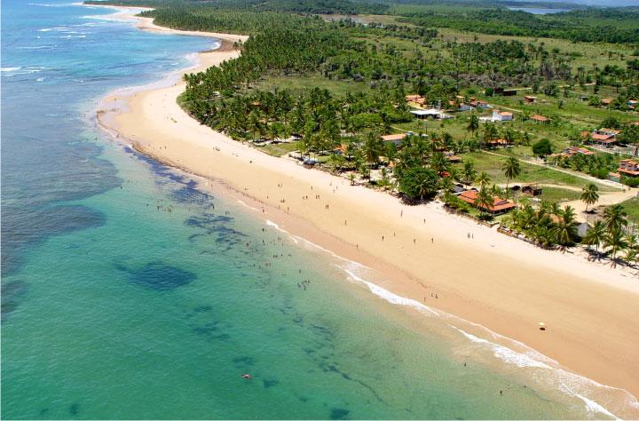 Praia de Saquaíra.