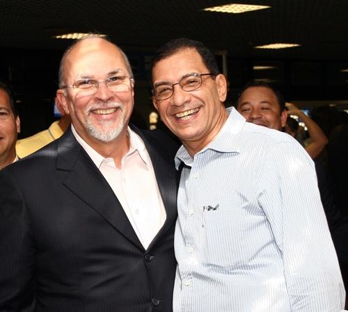 Jabes nunca foi citado nas investigações da Lava Jato. Contudo, Mario pai (na foto) e Mario Filho estão embolados.