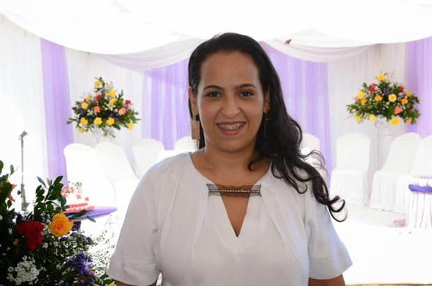 Prefeita Fernanda Silva. Imagem: Secom-Uruçuca.