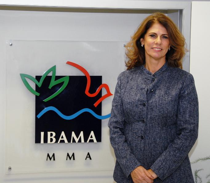 Marilene Ramos. Imagem: Ascom-Ibama.